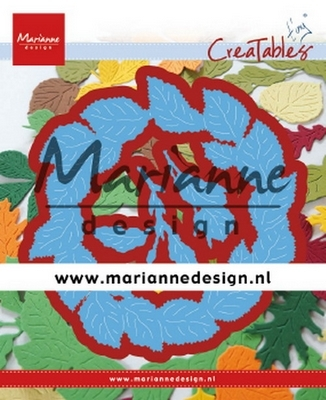 Marianne D. Creatables - Tiny's Leaves Wreath
