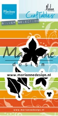 Marianne D. Craftables - Poinsettia by Marleen