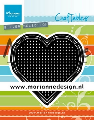 Marianne D. Craftables - Cross Stitch Heart