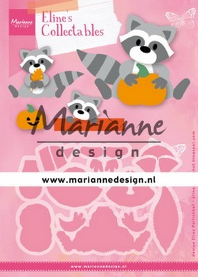 Marianne D. Collectable - Eline's Raccoon.