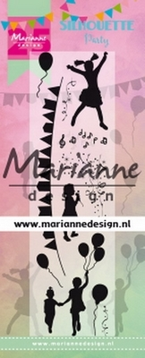 Marianne D. Clearstamp Silhouette Party