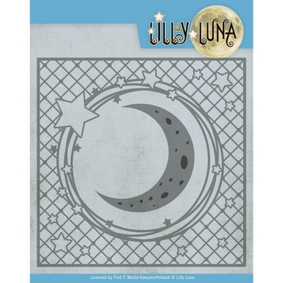 Snijmal - Lilly Luna - Stars and Moon Frame