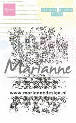 Marianne Design - Clear Stamp - Texture Stamp - Tiles