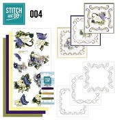 Stitch and Do nr. 4  Voorjaarsbloemen