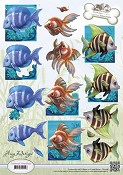 3D Amy Design - Animal Medley - Tropical Fish