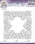 Embossing Folder Yvonne Creations - Magical Winter