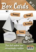Box Cards nr. 1 - Wit