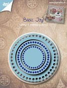 Joy! stencil Basic Rond