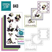 Stitch and Do 43 - Purple Colored Christmas