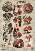 Amy Design - Autumn Moments - Knipvel Paddenstoelen