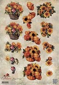 Amy Design - Autumn Moments - Knipvel Herfstbloemen