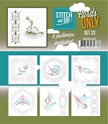 Stitch & Do Only Cards - set 23