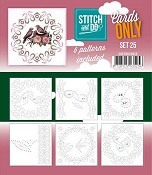 Stitch & Do Only Cards - set 25