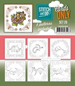 Stitch & Do Only Cards - set 26