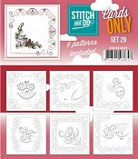 Stitch & Do Only Cards - set 29