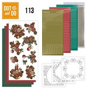 Dot & Do 113 - Christmas Flowers (Kerst bloemen)