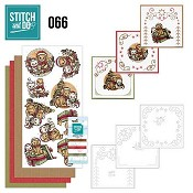 Stitch and Do 66 - Christmas Animals (Kerstdieren)