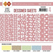 Designer Sheets - Amy Design - Sweet Pets - Oudroze