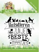 Clearstamp - Amy Design - Sweet Pets - Tekst)