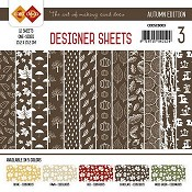 Designer Sheets Yvonne Creations - Autumn Colors -Chocoladebruin
