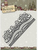 Die - Yvonne Creations- Celebrating Christmas - Holly Border