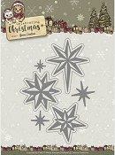 Die - Yvonne Creations- Celebrating Christmas - Twinkling Stars