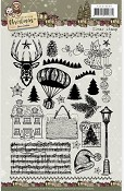 Clear Stamp - Yvonne Creations- Celebrating Christmas