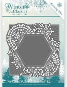Die- Jeanine`s Art - Winter Classics - Mosaic Frame