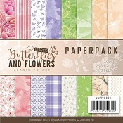 Paperpack - Jeanine`s Art - Classic Butterflies & Flowers