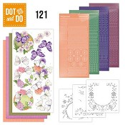 Dot & Do 121 - Jeanine`s Art - Vlinders en Bloemen