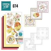 Stitch and Do 74 - Vlinders & Bloemen