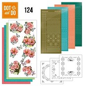 Dot & Do 124 - Amy Design - Roze bloemen en Vlinders