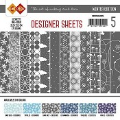 Designer Sheets - Winter Edition - Donkergrijs