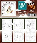 Stitch & Do Only Cards - set 37