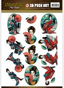 Push-out - Amy Design - Oriental - Geisha`s