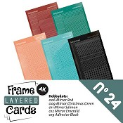 Layered Frame Cards vierkant nr.2