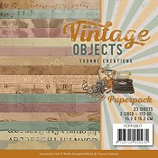Paperpack Yvonne Creations Vintage Objects