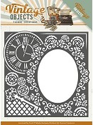 Die - Yvonne Creations - Vintage Objects - Endless Time Frame