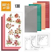 Dot & Do 130 - Precious Marieke - Timeless Red Flowers