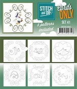 Stitch & Do Only Cards - set 41