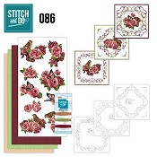 Stitch and Do 86 - Vogels en Rozen