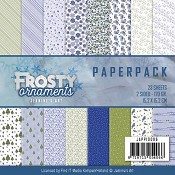 Paperpack Jeanine`s Art - Frosty Ornaments