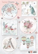3D Decoupage sheet Marianne D. - Els Summer Dreams
