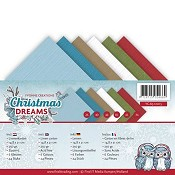 Linnenpakket A5 - Yvonne Creations - Christmas Dreams