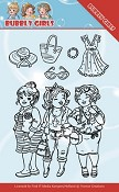 Clear Stamp - Yvonne Creations - Bubbly Girls - Girlfriends