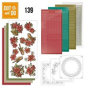 Dot & Do 139 - Poinsettia Christmas