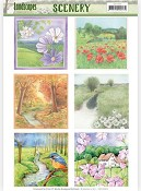 Die Cut Topper - Scenery - Jeanine`s Art - Landscapes