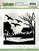 Cut & Embossing folder - Jeanine`s Art - Landscapes