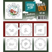 Stitch & Do Cards Only - Set 49