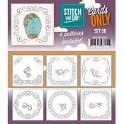 Stitch & Do Cards Only - Set 50